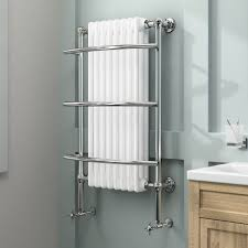 fascinating traditional wall mounted towel rack design of