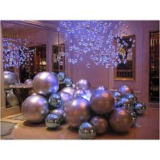 big ornament balls rainforest islands ferry