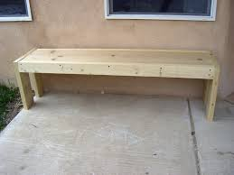 Backyard Bench Ideas by Furniture U0026 Accessories Modern Ideas Of Wood Bench Design Thick