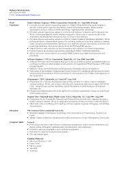 objective in resume for experienced software engineer sample curriculum vitae software developer professional software development resume esl energiespeicherl sungen engineering cv template