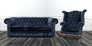 Chesterfield Black Sofa Black Chesterfield Sofa And Chesterfield 3 Chair
