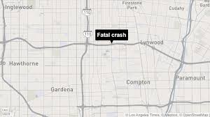 Sigalert Com Los Angeles Traffic Map by 3 Vehicle Crash Leaves 1 Dead Closes Eastbound 105 Freeway In