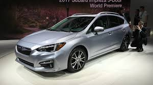 white subaru hatchback 2017 subaru impreza hatch and sedan gallery photos 1 of 20