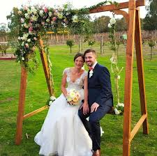 wedding backdrop hire melbourne wedding swing flower swing hire melbourne