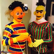Halloween Costumes Sesame Street Sesame Street Bert Ernie Costume Bald Cap Costume Works