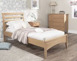 edward hopper oak single bed 3ft bed frame very sturdy oak bed