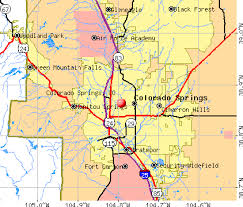 colorado population map colorado springs colorado co profile population maps