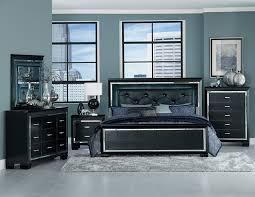 black furniture bedroom set allura black bedroom set adams furniture