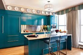 cuisine turquoise une cuisine en bleu inspirée par la mer