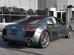 Audi R8 Matte Black - 2012 audi r8 specs and photots rage garage