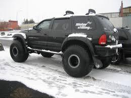 2006 dodge durango accessories durango on 44 tires