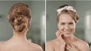 tapped hair cut for over 5o over 50 years of wedding hairstyles in two minutes
