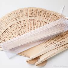cheap hand fans for wedding custom logo wooden hand fans wedding fan favors with organza bag for