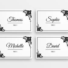 printable placecards rustic handdrawn printable wedding tent place cards peculiar