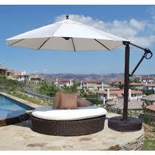 Aluminum Patio Umbrellas by Galtech Patio Umbrellas And Bases Aluminum Teak And Cantilever