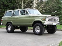 old jeep grand wagoneer jeep wagoneer specs and photos strongauto