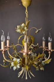 minecraft chandelier design 20 best vintage tole flowers chandelier images on pinterest