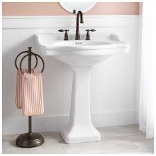 outstanding bathroom with pedestal sink photo ideas yoyh org