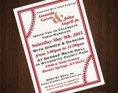baseball wedding invitations baseball wedding invitations search 8 13 16