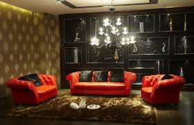 Red And Black Living Room Home Design 79 Appealing Modular Living Room Furnitures