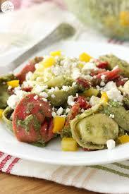 cbell kitchen recipe ideas easy pesto tortellini salad a kitchen addiction