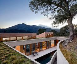 homes built into hillside home built into the hillside in kentfield california enpundit