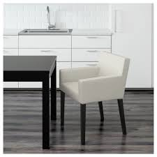 White Wicker Desk by Nils Chair With Armrests Black Blekinge White Ikea
