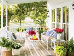 southern living porches spring porch decorating ideas southern living