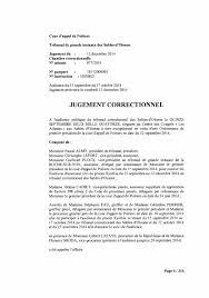 chambre correctionnelle cour d appel jugement correctionnel du 12 décembre 2014 by 3 pays de la