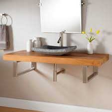 Teak Vanity Bathroom by 49