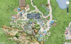 Map Of Orlando Theme Parks by Photo Disney U0027s Online Walt Disney World Maps Updated To Include