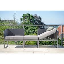 balkon liege 3 in 1 lounge liege und sofa donna möbel modern und