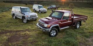 2017 toyota land cruiser prices 2017 toyota landcruiser 70 series pricing and specs photos 1 of 17