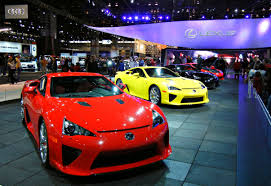 lexus de kendall chicago auto show to feature five indoor test tracks to enhance