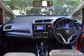 Honda Brio Smt Interior 2015 Honda Jazz Petrol Cvt And Mt First Drive Review