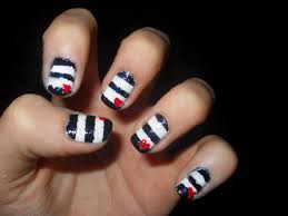 different nail art be different with totally different nail