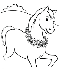 coloring sheets of a horse horse printable coloring pages www glocopro com