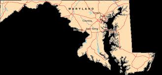 map of maryland with cities map of maryland