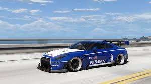 Nissan Gtr Models - 2010 nissan gt r spec v pandem add on replace template rhd
