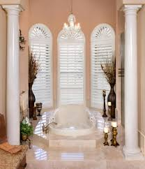 arch windows rockwood shutters blinds and draperies