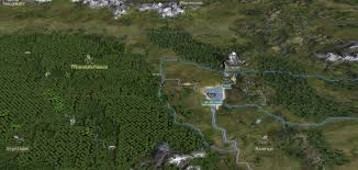 Lord Of The Rings Map New Campaign Map Textures Image The Lord Of The Rings Total