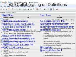 Spreadsheet Definition 66 Interesting Ways To Use Google Forms In The Classroom Ppt