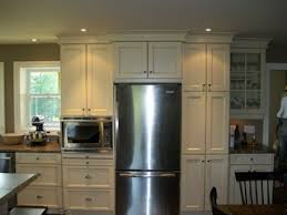 cabinets built around fridge house reno pinterest kitchen cabinets