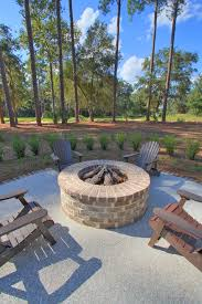 Brick Firepits Patio Design Ideas With Pits Patio Traditional With