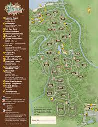 Disney Caribbean Beach Resort Map by Fort Wilderness Resort Map Kennythepirate Com An Unofficial