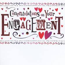congratulations on your engagement card finished on your engagement card karenza paperie