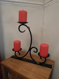 scrolled candle holder available ckmetalcraft co uk castiçais
