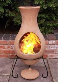 Chiminea Outdoor Fireplace Clay - 23 best chiminea mia images on pinterest outdoor fireplaces