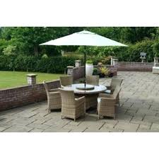 Outdoor Patio Chairs Clearance Outdoor Porch Furniture Azalea 6 Seat Garden Dining Set