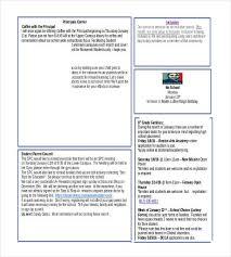 word newsletter template u2013 31 free printable microsoft word